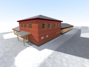 Provozní budovy
